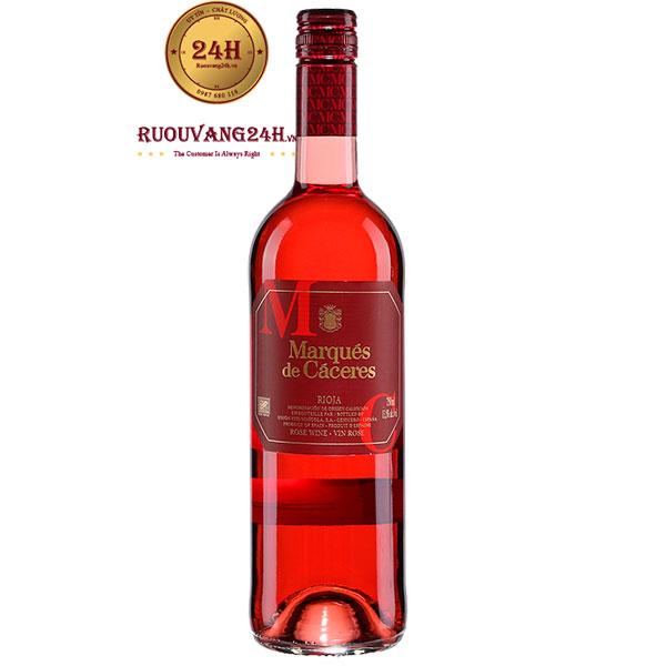 Rượu Vang Marques De Caceres Rosado Rose
