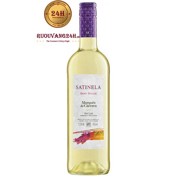 Rượu Vang Marques De Caceres Satinela Semi Dulce