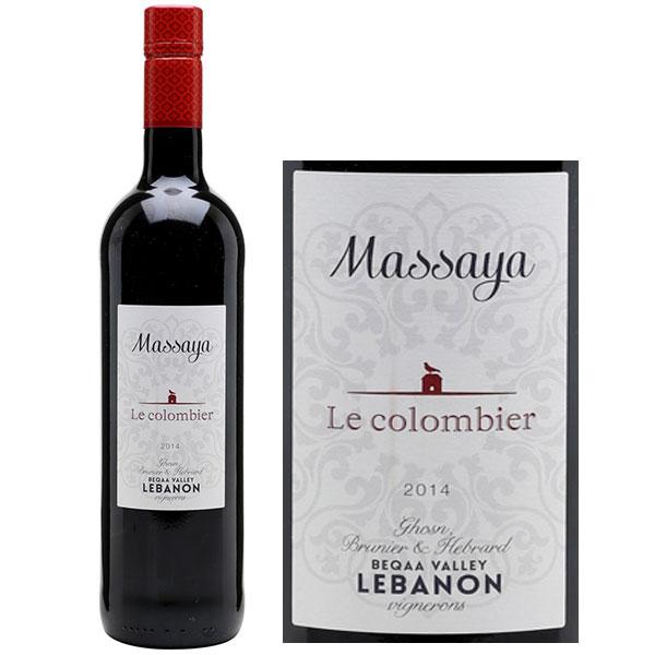 Rượu Vang Massaya Le Colombier Lebanon