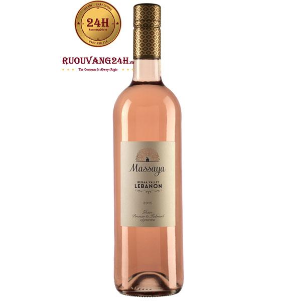 Rượu Vang Massaya Rose