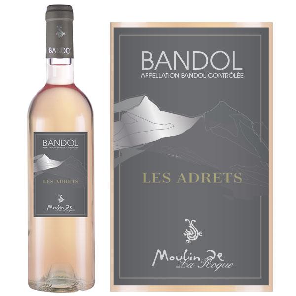 Rượu Vang Moulin De La Roque Les Adrets Bandol Rose