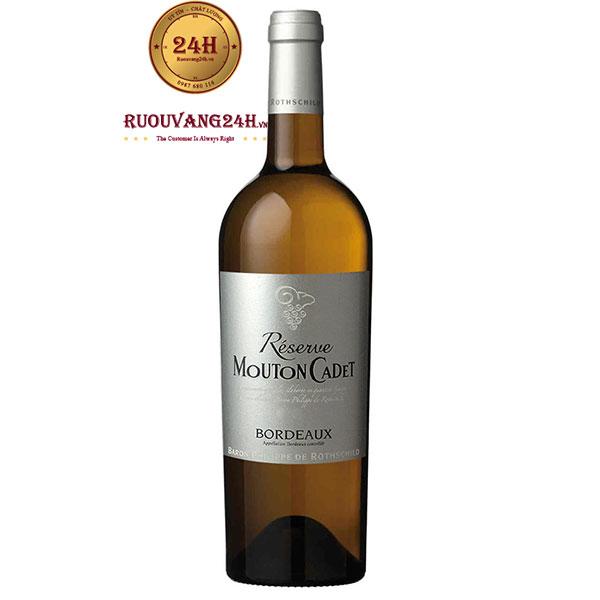 Rượu Vang Mouton Cadet Reserve Bordeaux White