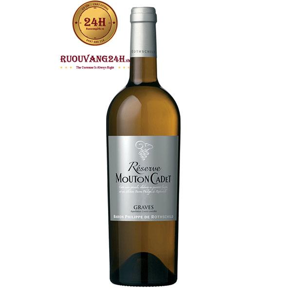 Rượu Vang Mouton Cadet Reserve Graves White
