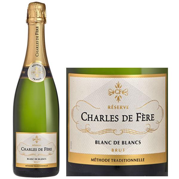 Rượu Vang Nổ Charles De Fère Réserve Blanc De Blancs
