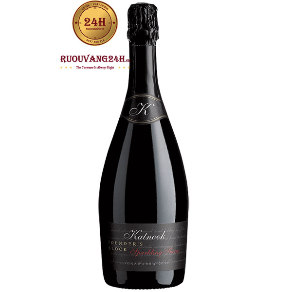Rượu Vang Nổ Katnook Estate Founder's block Sparkling Shiraz