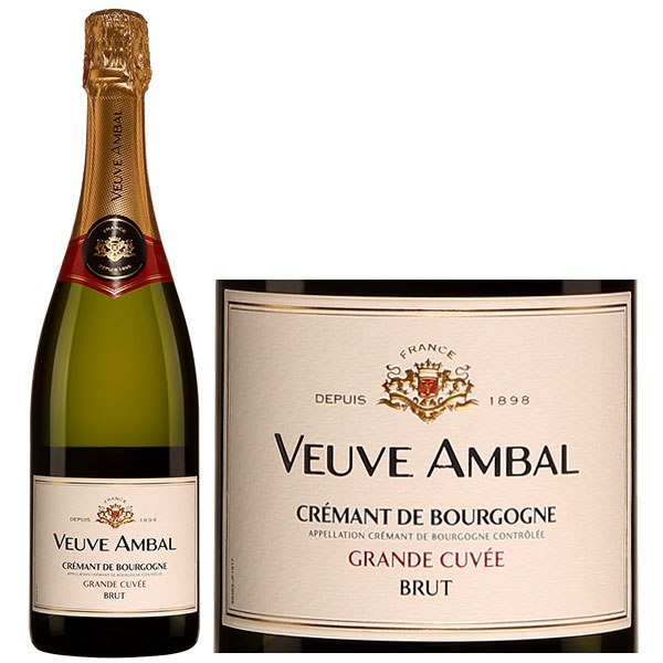 Rượu Vang Nổ Veuve Ambal Crémant De Bourgogne