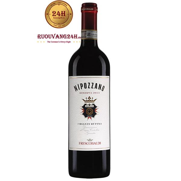 Rượu Vang Frescobaldi Nipozzano Riserva Chianti Rufina