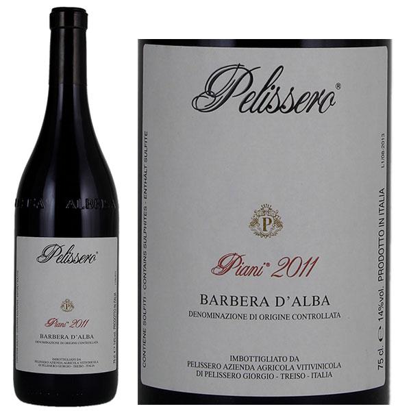 Rượu Vang Pelissero Piani Barbera D'Alba