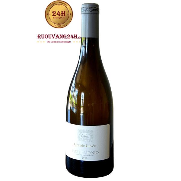 Rượu Vang Pháp Clos Teddi Grande Cuvée Blanc