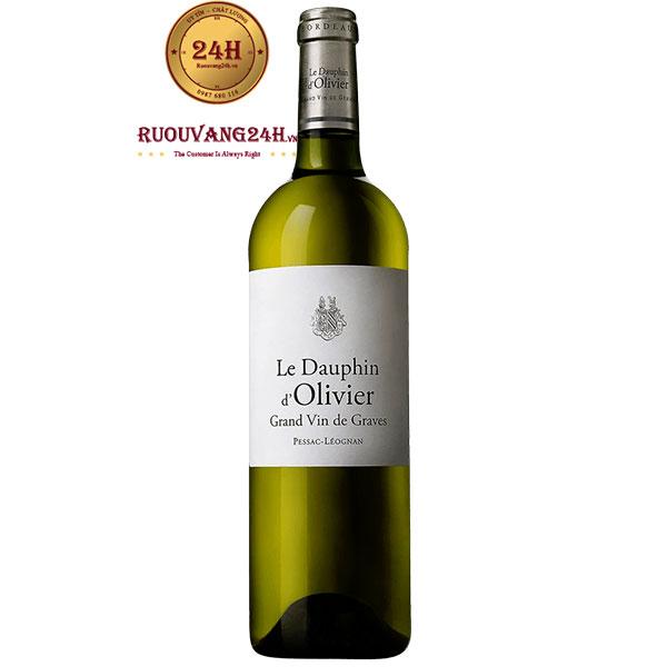 Rượu Vang Pháp Le Dauphin D'Olivier Grand Vin De Graves