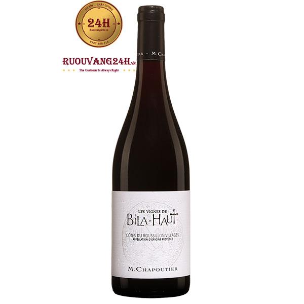 Rượu Vang Pháp M.Chapoutier Les Vignes De Bila Haut