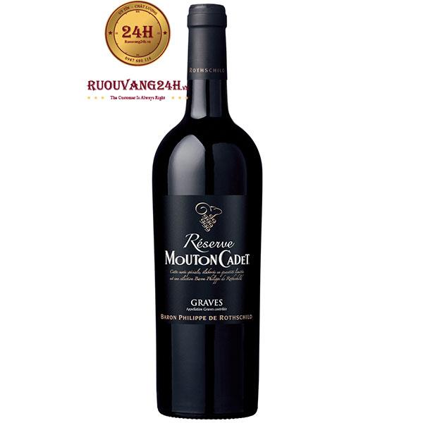 Rượu Vang Pháp Mouton Cadet Reserve Graves