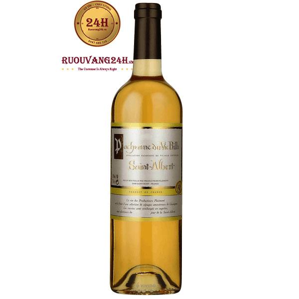 Rượu Vang Plaimont Saint Albert Pacherenc Du Vic Bilh