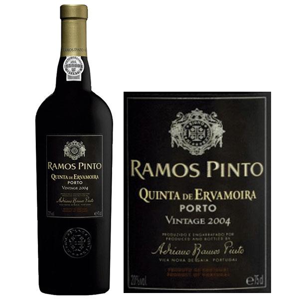 Rượu Vang Porto Ramos Pinto Vintage 2004