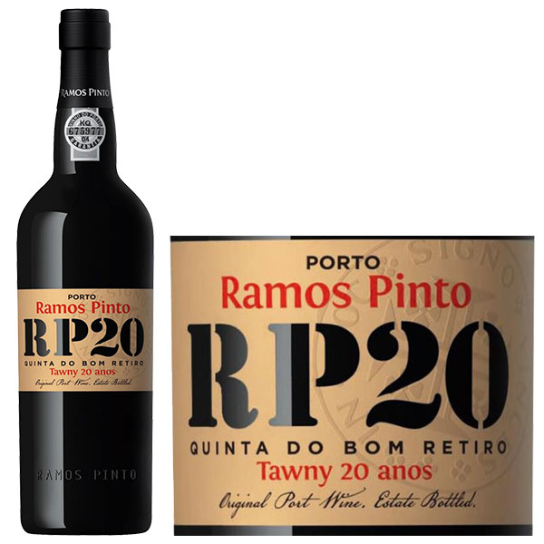 Rượu Vang Ramos Pinto 20 Years Port
