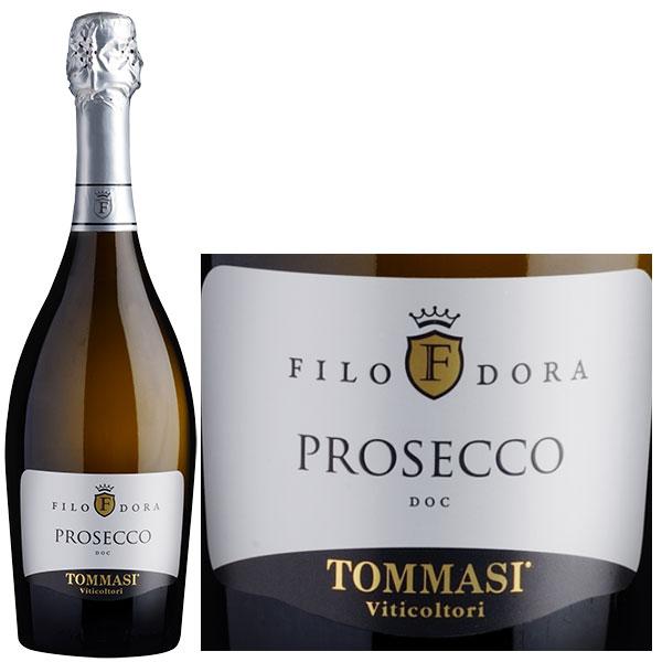 Rượu Vang Sủi Tommasi Filodora Prosecco