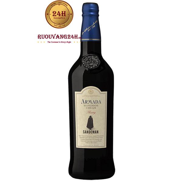 Rượu Vang Sandeman Armada Superior Cream Sherry