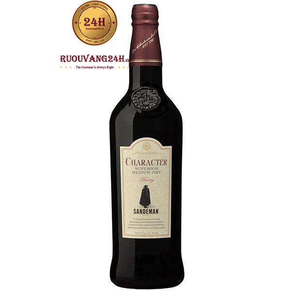 Rượu Vang Sandeman Character Sherry