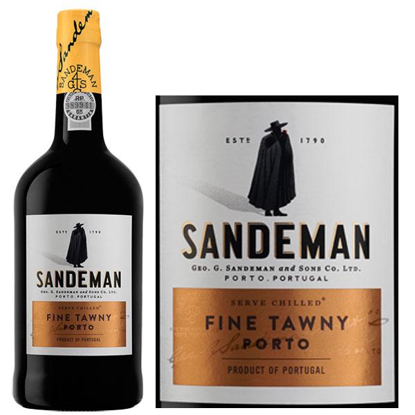 Rượu Vang Sandeman Port Fine Tawny