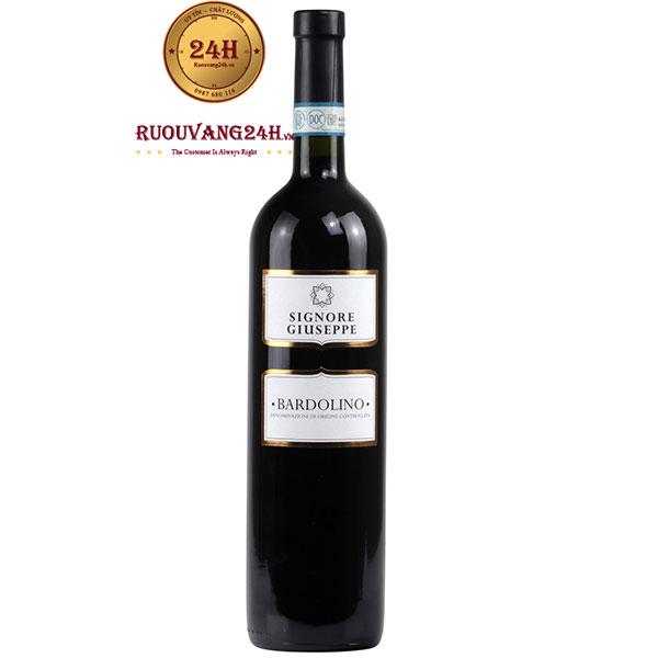 Rượu Vang Signore Giuseppe Bardolino IGT
