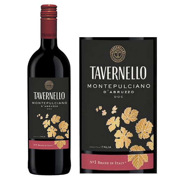 Rượu Vang Tavernello Montepulciano D'Abruzzo