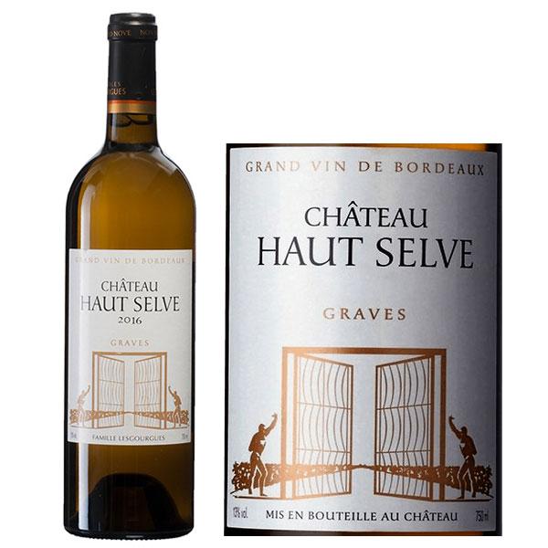 Rượu Vang Trắng Chateau Haut Selve Graves