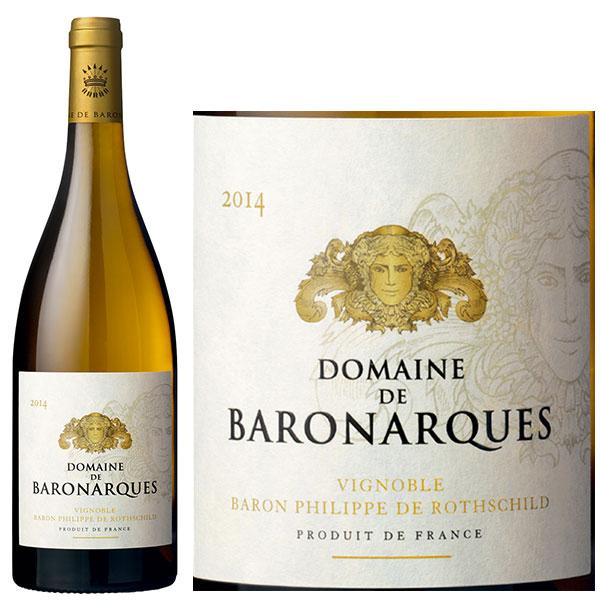 Rượu Vang Trắng Domaine De Baronarques