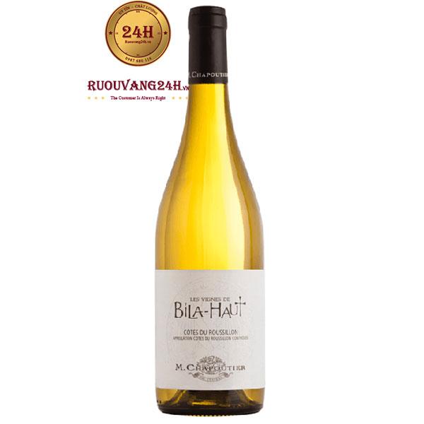 Rượu Vang Trắng M.Chapoutier Les Vignes De Bila Haut