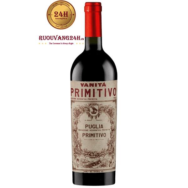 Rượu Vang Vanita Primitivo Di Manduria Vendemmia