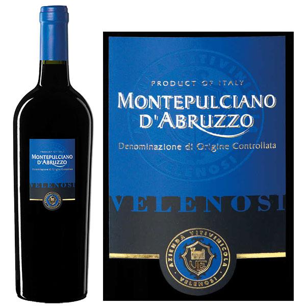 Rượu Vang Velenosi Montepulciano D'Abruzzo