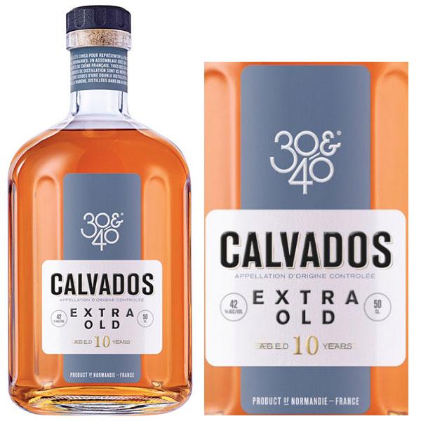 Rượu 30&40 Calvados Extra Old