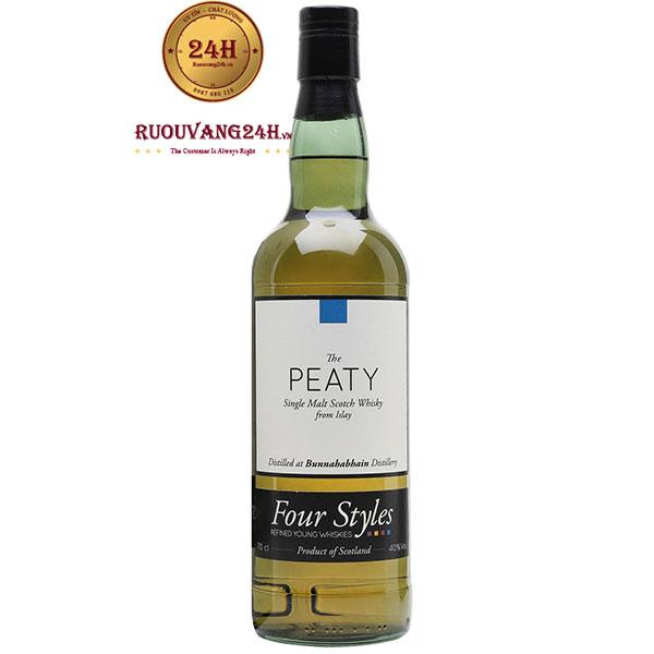Rượu Bunnahabhain Stoisha The Peaty Whisky