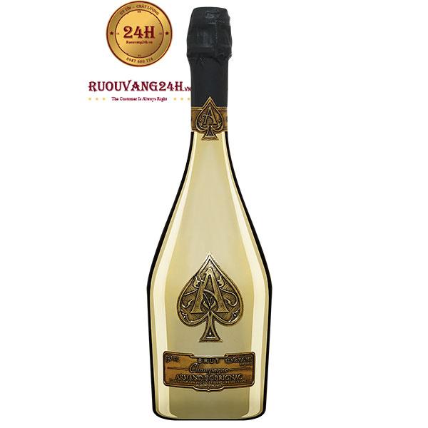 Rượu Champagne Armand De Brignac Gold – Champagne Át Bích