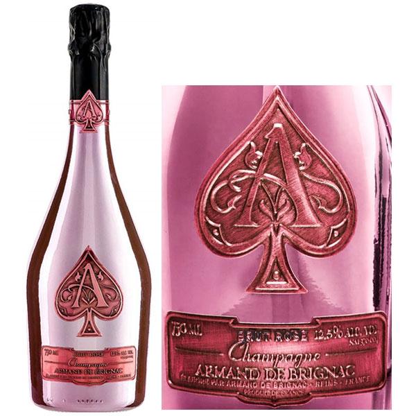 Rượu Champagne Armand De Brignac Rose