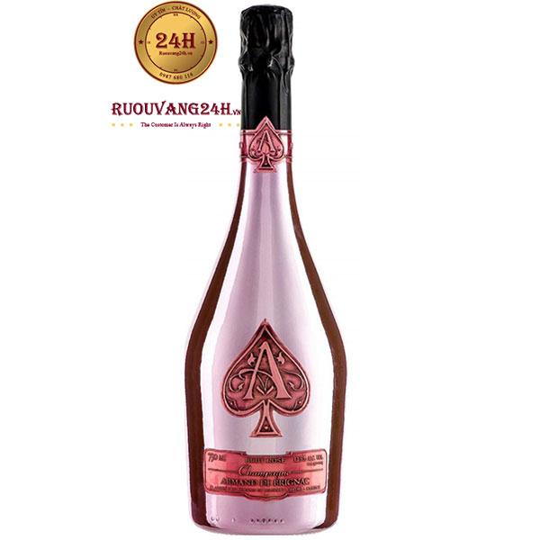 Rượu Champagne Armand De Brignac Rose – Champagne Át Bích