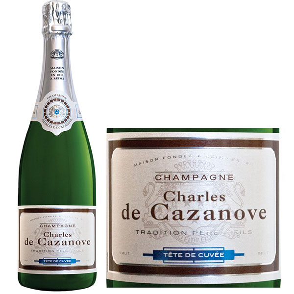 Rượu Champagne Charles De Cazanove