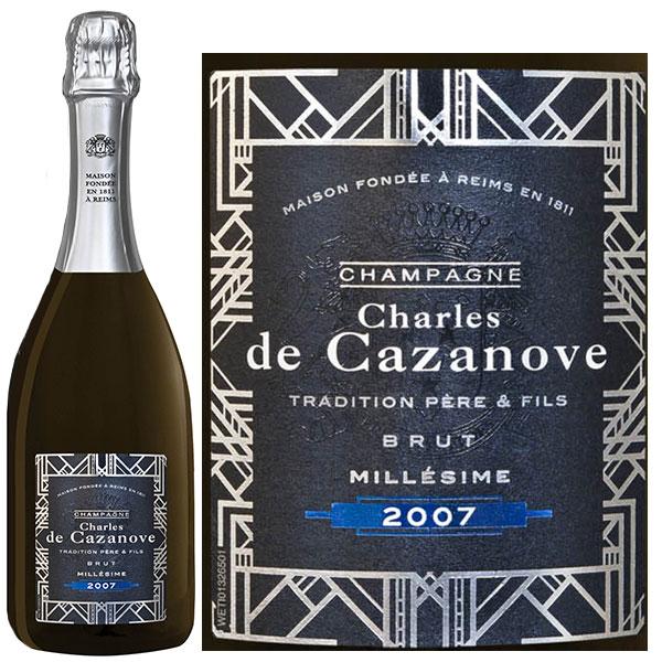 Rượu Champagne Charles De Cazanove Millésimé