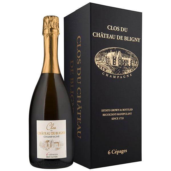 Rượu Champagne Clos Du Chateau De Bligny Brut Nature