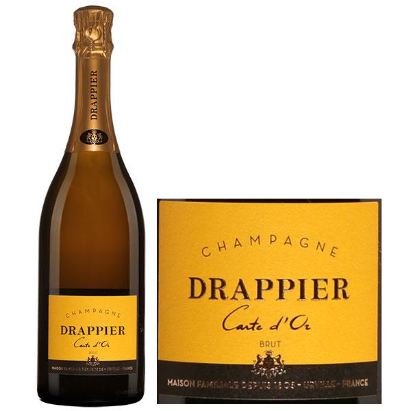 Rượu Champagne Drappier Brut Carte d'Or