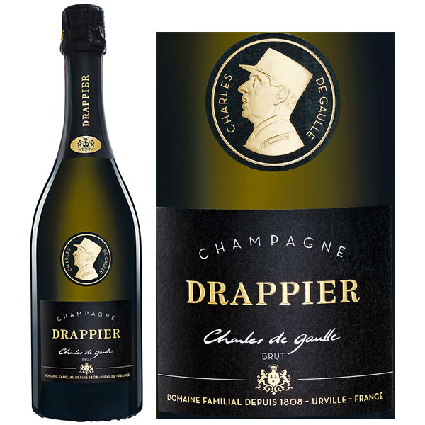 Rượu Champagne Drappier Cuvee Charles De Gaulle