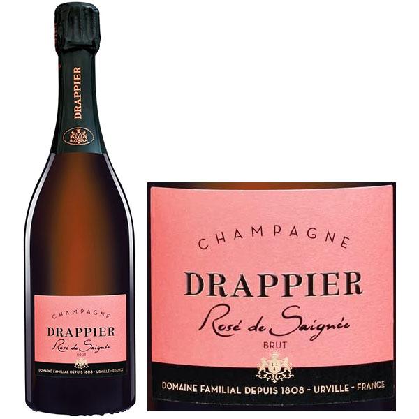 Rượu Champagne Drappier Rose De Saignee