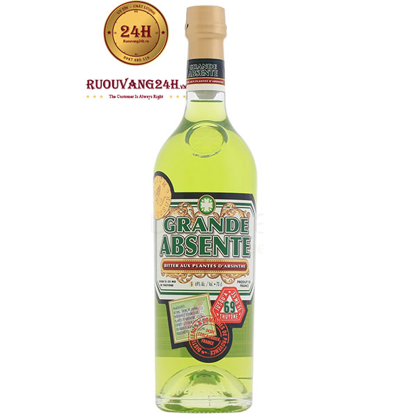 Rượu Distillerie Provence Grande Absente 69 Absinthe Bitter