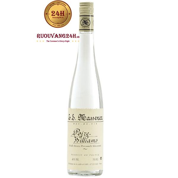 Rượu Eau De Vie De Poire Williams 700 ML