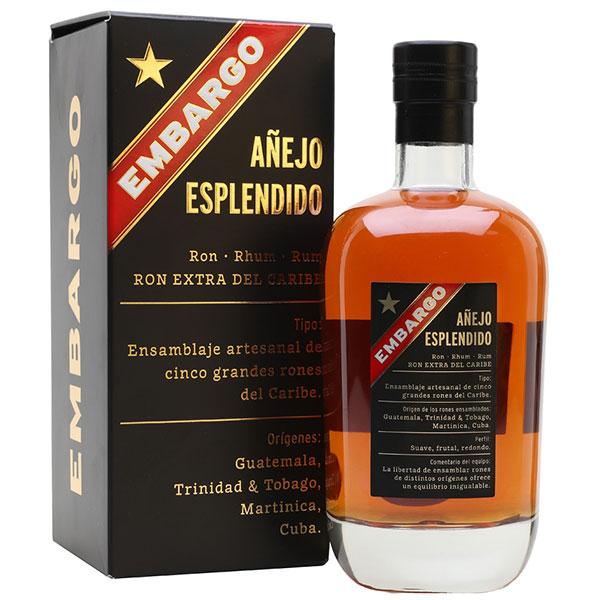 Rượu Embargo Anejo Esplendido Rhum