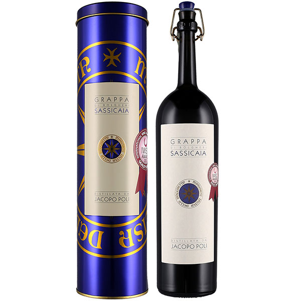 Rượu Grappa Di Sassicaia Tenuta San Guido & Jacoppo Poli
