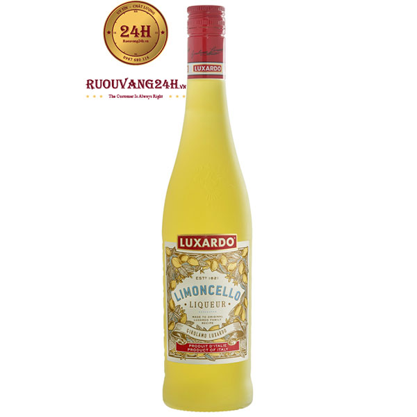 Rượu Luxardo Limoncello Liqueur 1000 ML