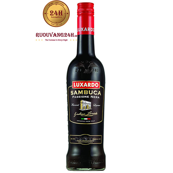 Rượu Luxardo Sambuca Passione Nera