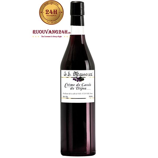 Rượu Massenez Creme De Cassis Blackcurrant