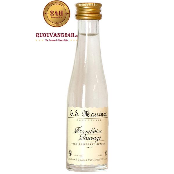 Rượu Massenez Framboise Sauvage Wild Raspberry Brandy