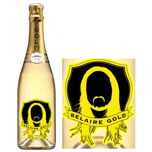Rượu Sâm Banh Luc Belaire Gold Fantome